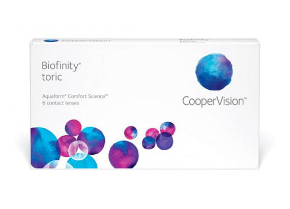Biofinity Toric (1x6)