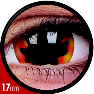 Mini-Sclera Blackhole Sun (Jahreslinse) (1x2)