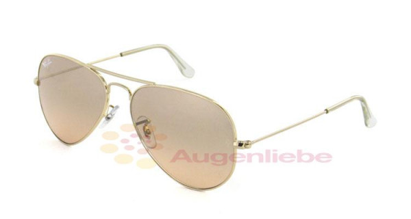 Ray-Ban RB 3025 Aviator 001/3E 55 arista gold