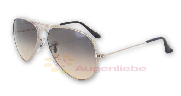 Ray-Ban RB 3025 Aviator 003/32 55 silver