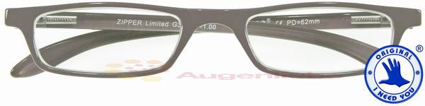 Zipper Limited Kunststoffbrille grau