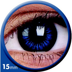 BigEyes Cool Blue 15mm (3-Monatslinse) (2 Stk.)