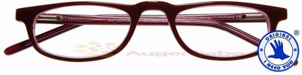 Butler Acetatbrille rot-pflaume