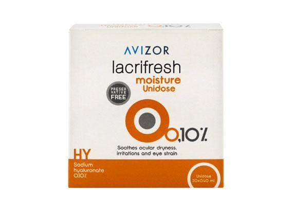 Avizor lacrifresh moisture 0,1% (20x0,4ml)