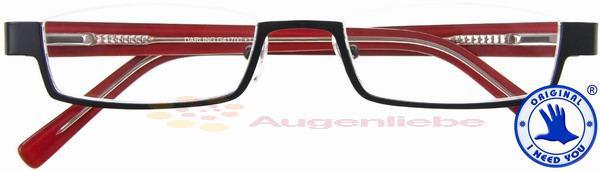 Darling Nylorbrille schwarz-rot