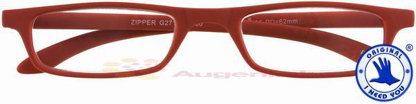 Zipper Kunststoffbrille rot