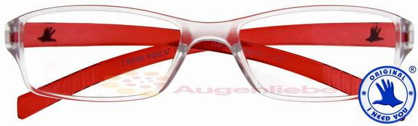 Oscar Kunststoffbrille rot