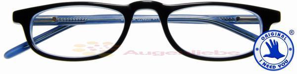 Butler Acetatbrille blau-blau