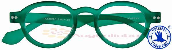 Doktor Limited Panto-Kunststoffbrille grün