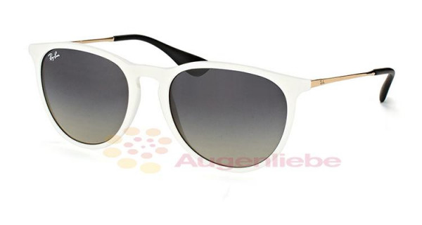 Ray-Ban RB 4171 Erika 6314/11 shiny white sp red